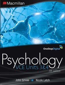 Psychology VCE 3&4 5E