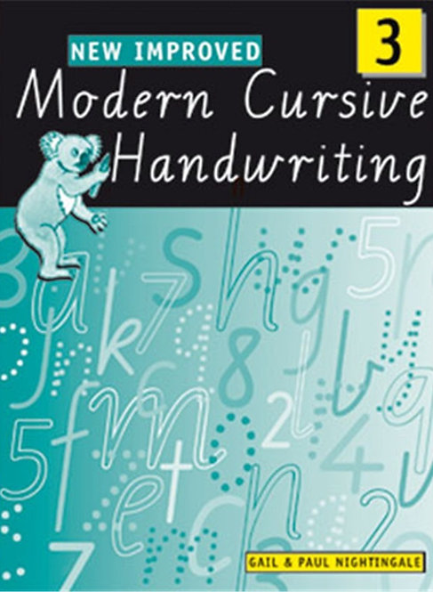 New Improved Modern Cursive Handwriting Victoria Year 3