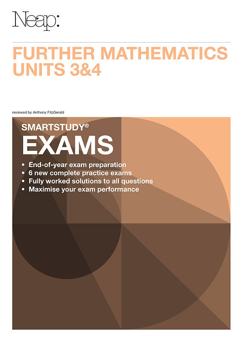 Further Maths Units 3&4 Exams Guide (2016 Ed)
