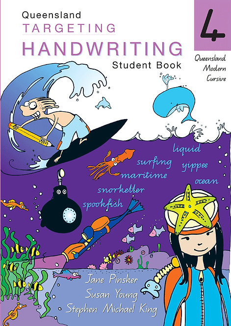 Targeting Handwriting: QLD Year 4 Student Book