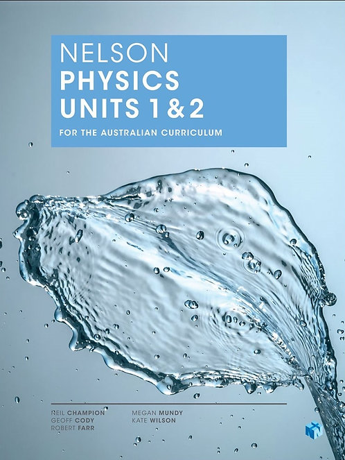 Nelson Physics Units 1&2 for the AC (PRINT + DIGITAL)