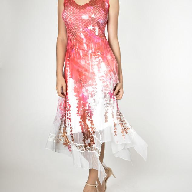 Komarov Asymetrical Dress $350