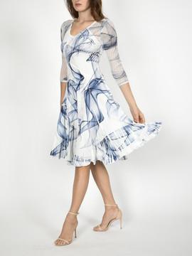 Komarov 3_4 Sleeve Dress $306