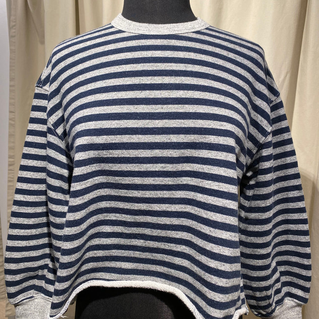 The Great Cut Off Sweatshirt $115