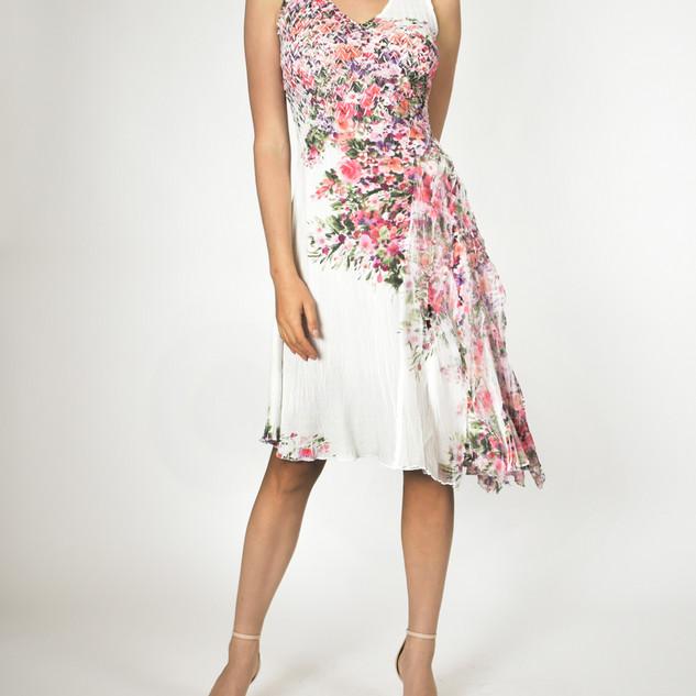 Komarov Asymmetric Hem Dress $306