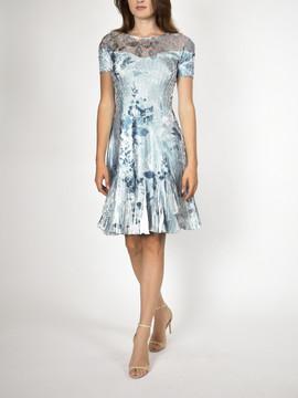 Komarov Short Sleeve Dress $306