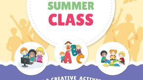 毎週火曜日 夏季限定小学校低学年向けの英語教室について