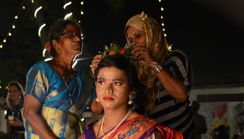 "Bhisaji Gadekar performing ""She Talks Th"