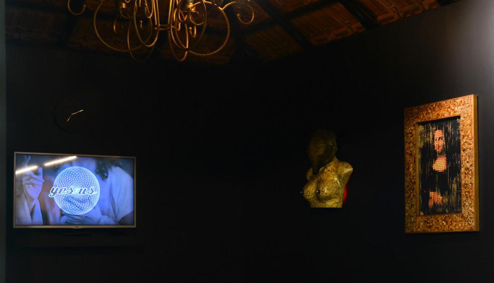 Shido & Cordy's multi-media installation