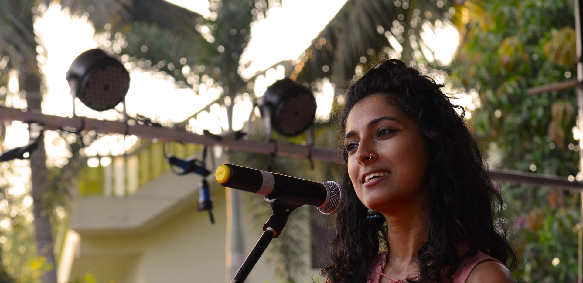 Poetry session with Pragya Bhagat