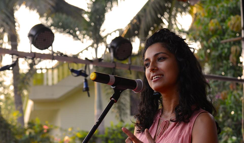 Poetry session with Pragya Bhagat