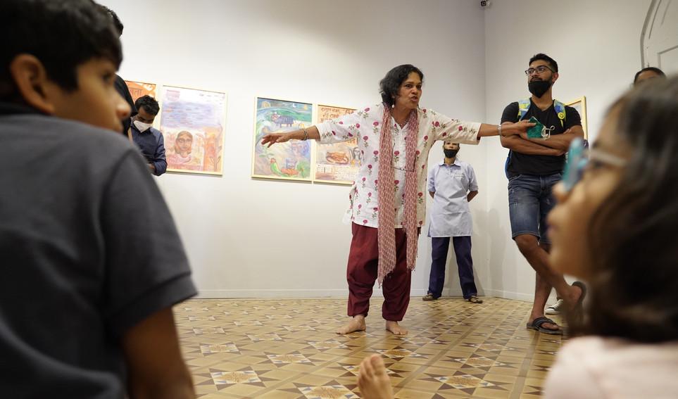 Storytelling workshop by Arundhati Chattopdhyaya