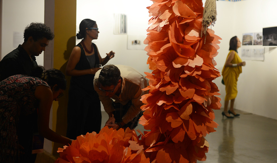 Bianca Ballantyne's installation