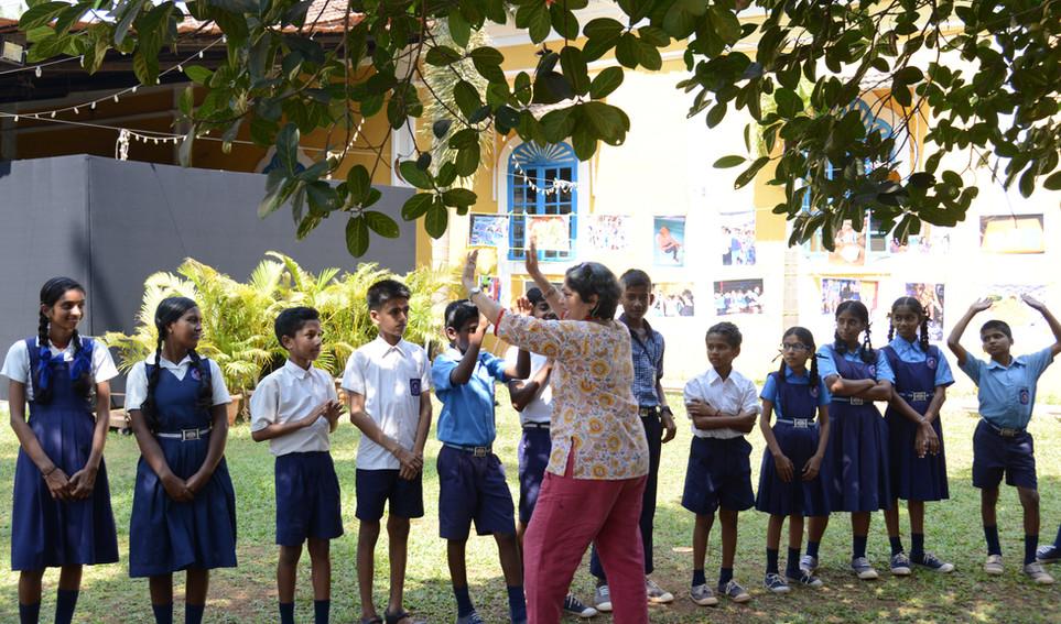 Theatre workshop by Arundhati Chattopadh