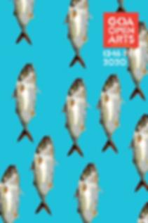 GOA OPEN ARTS 2020 CATALOGUE cover