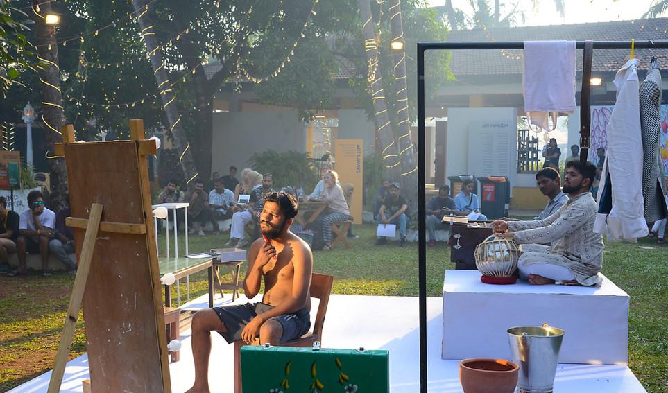 Bhisaji in performance