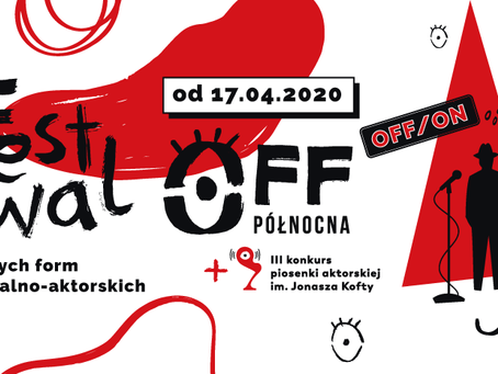 Teatr Muzyczny #zostajewdomu - OFF/ON - niespodzianka!