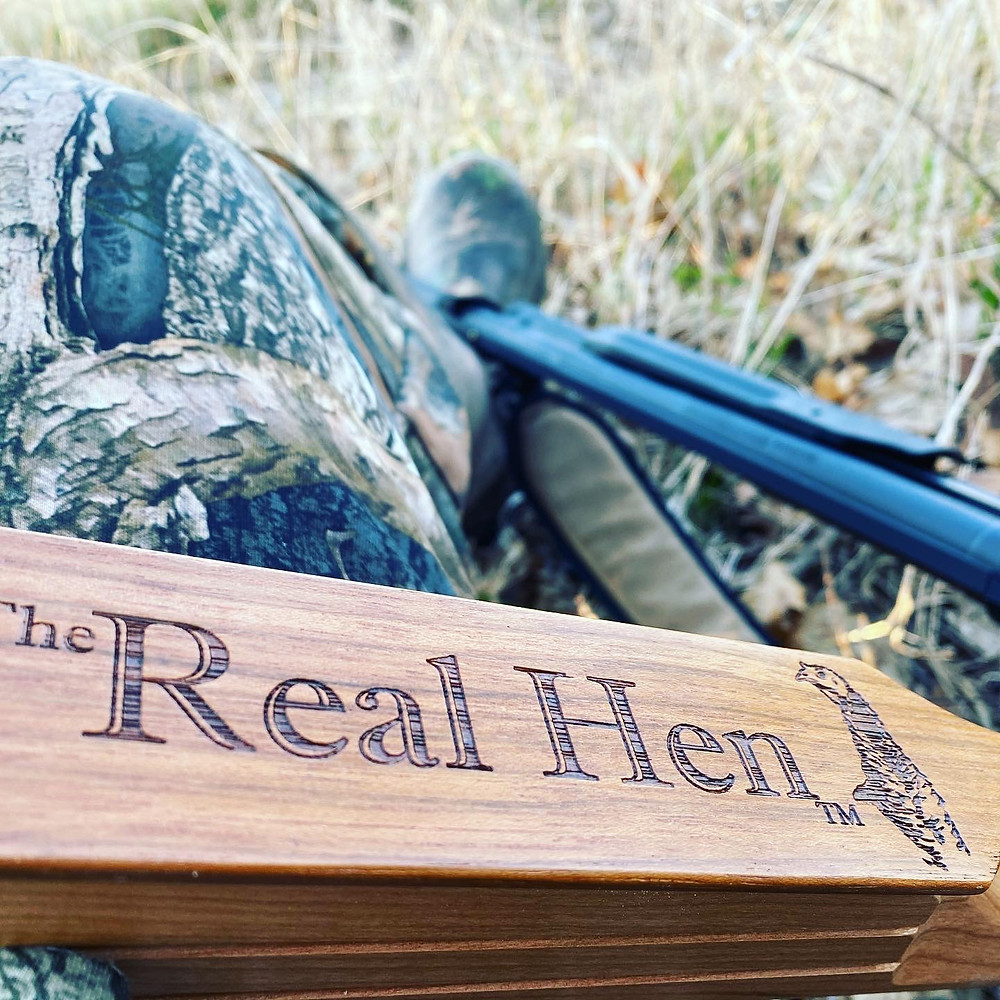The Real Hen Woodhaven turkey box call