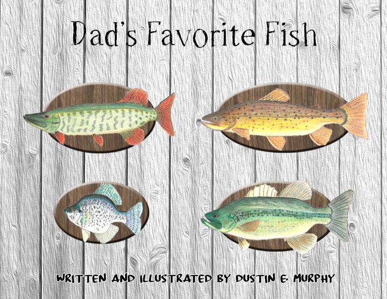 A children's book about fishing