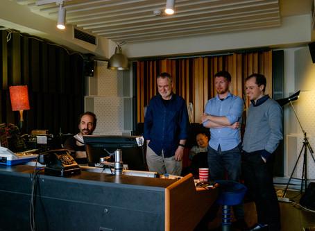 Back in the studio with Guitar Trek