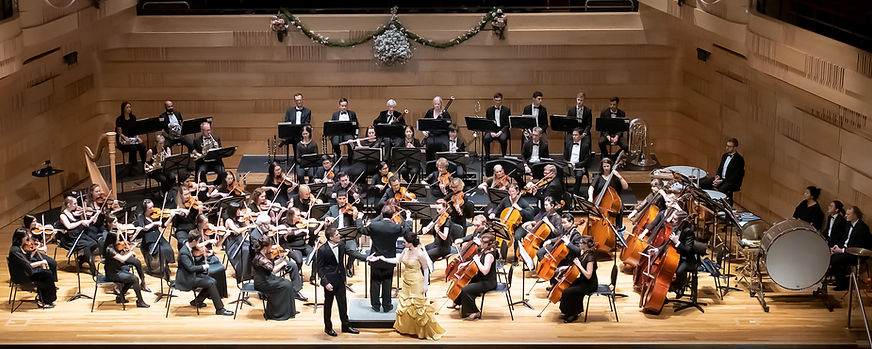 Rebecca MacCallion sings with the Willoughby Symphony Orchestra, conducted by Nicholas Milton