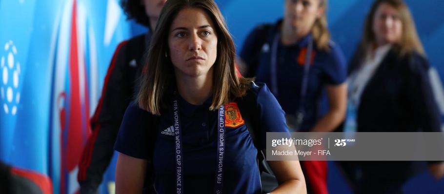 Vicky Losada - Capitana of FC Barcelona Femeni