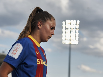 FCB Femení's May Player of the Month: Lieke Martens