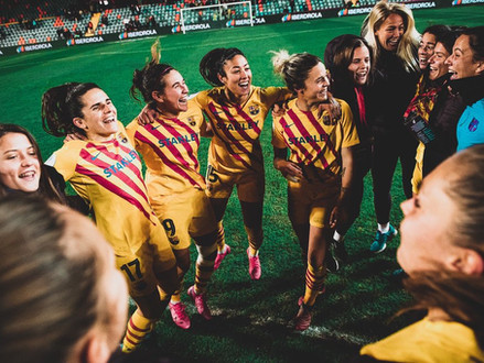 FC Barcelona Femení 's chances of winning the UWCL title