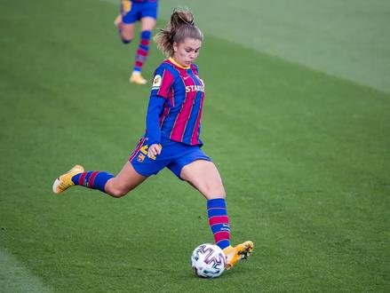 FCB Femení's December Player of the Month: Lieke Martens