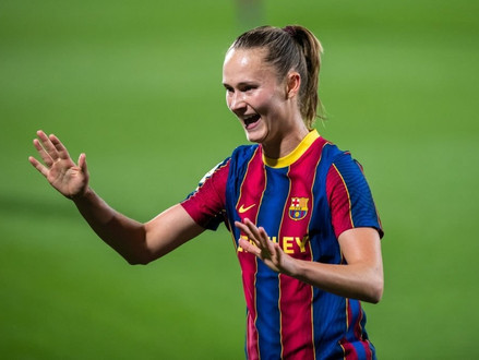 FCB Femeni's November Player of the Month: Caroline Graham-Hansen