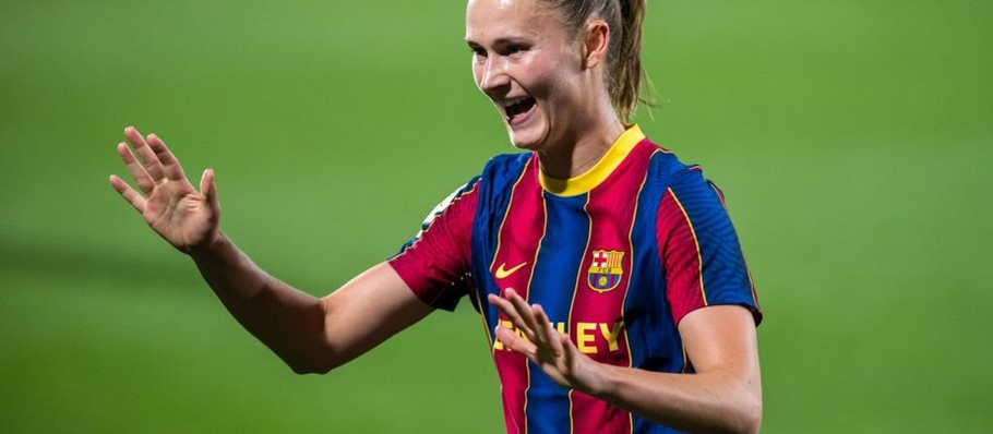FCB Femeni's November Player of the Month: Caroline Graham-Hansen