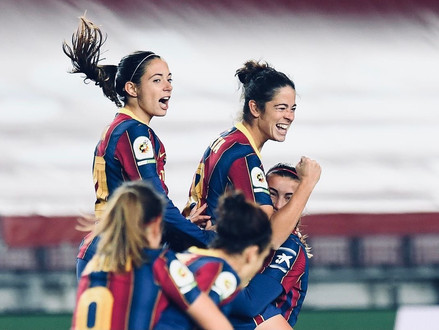 FC Barcelona Femeni wins the Catalan derby at Camp Nou