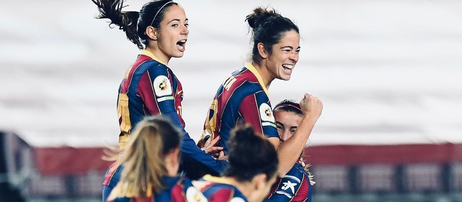 FC Barcelona Femeni wins the Catalan derby at Camp Nou