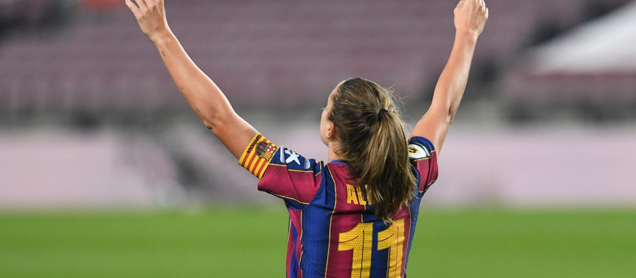 FCB Femeni's January Player of the Month: Alexia Putellas