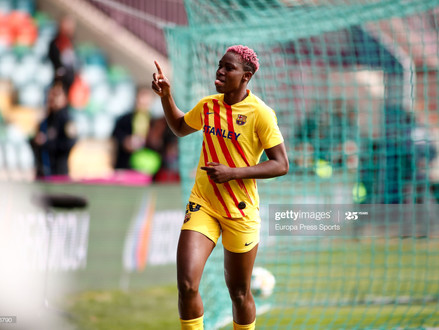 Asisat Oshoala - The Powerhouse and the Sharpshooter of Barcelona