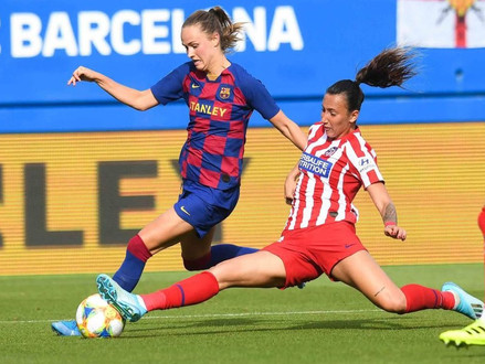 Preview of UWCL Quarterfinals: Atletico Madrid Femenino vs FC Barcelona Femeni