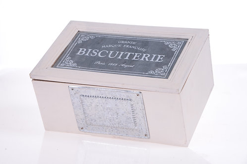 French biscuit box