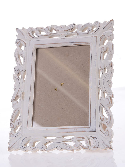 White decorative frame