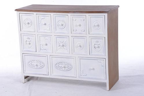 Vintage chest of draws - 13 draws