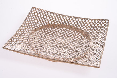 Gold decorative tray