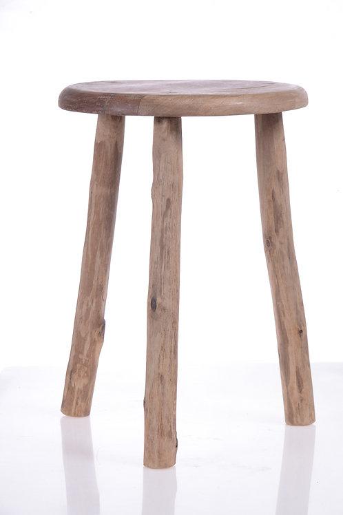 Timber display stool