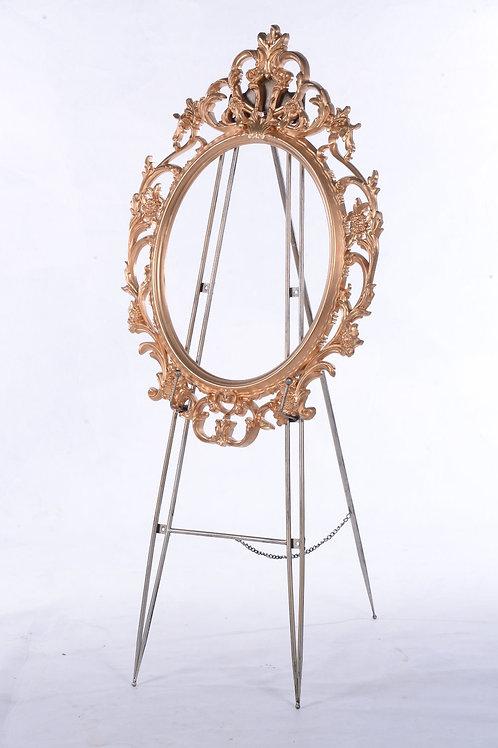 Decorative gold frame - Oval