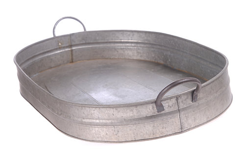 Metal drinks tray - Large