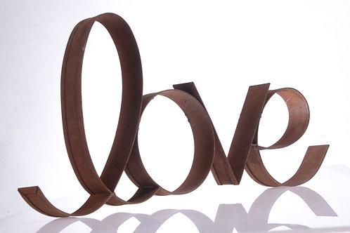 metal 'love' sign