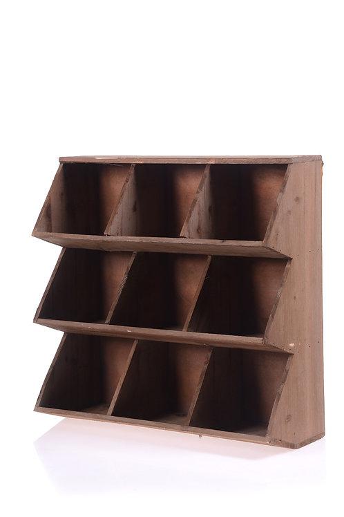 Wooden postie shelf / Food display