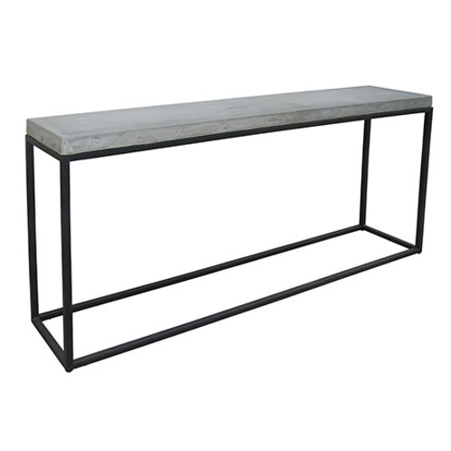 Urban concrete and steel console
