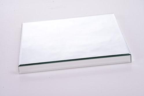 Mirrored cake stand - square