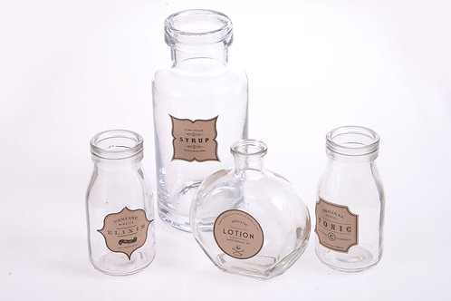 Vintage glassware - Set of four