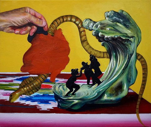 A SERPENT AND THE WAVE