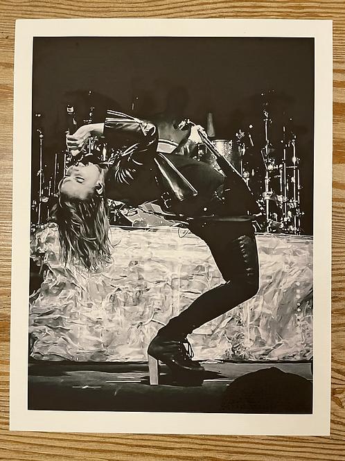 Lzzy Hale 8.5x11 Matte Canvas Limited to (15) Prints